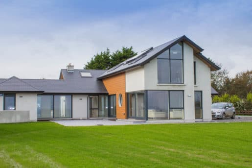 Aluclad windows House Ireland