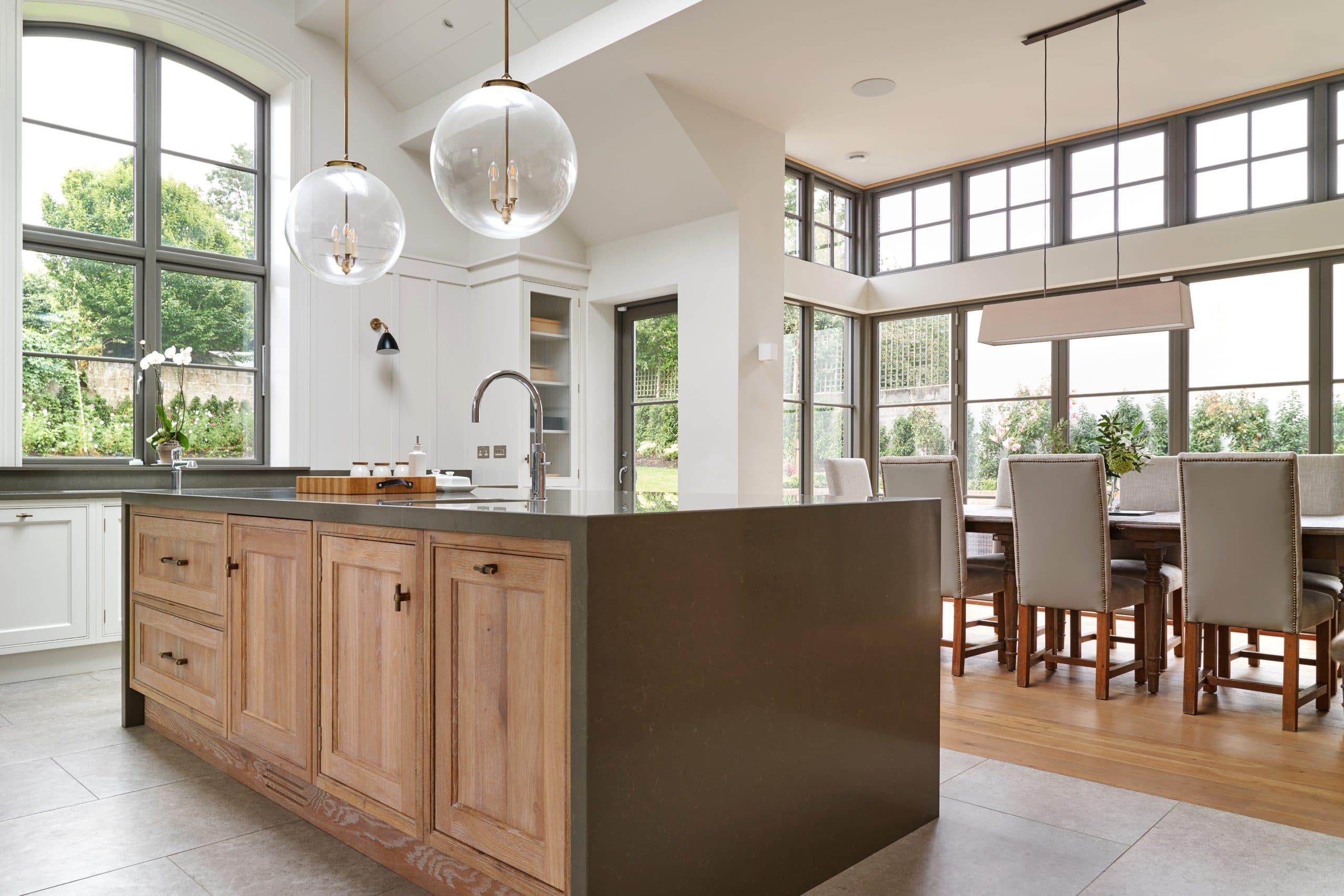 Windows and Doors in kitchen