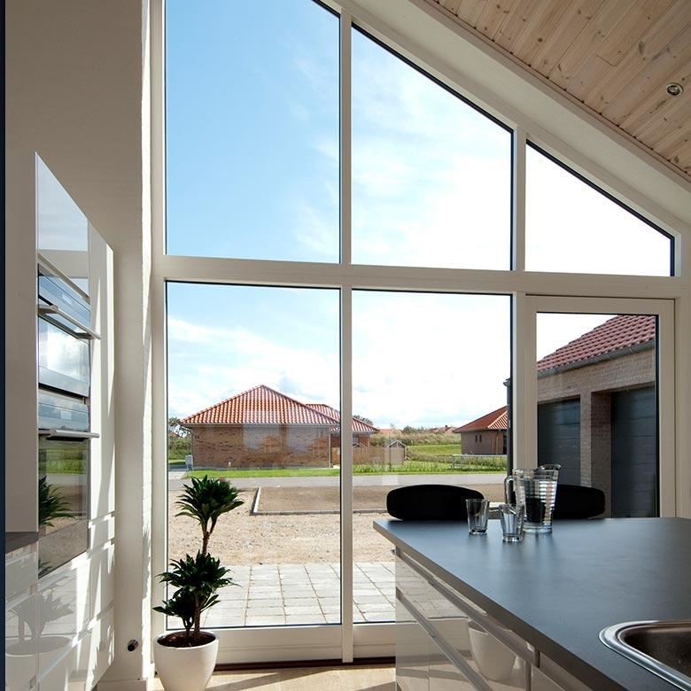 Tall windows in AluClad
