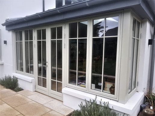French Doors and Windows to Patio