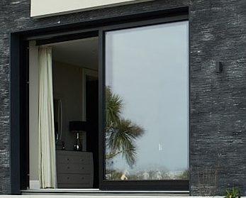 Sliding Door in house jet black